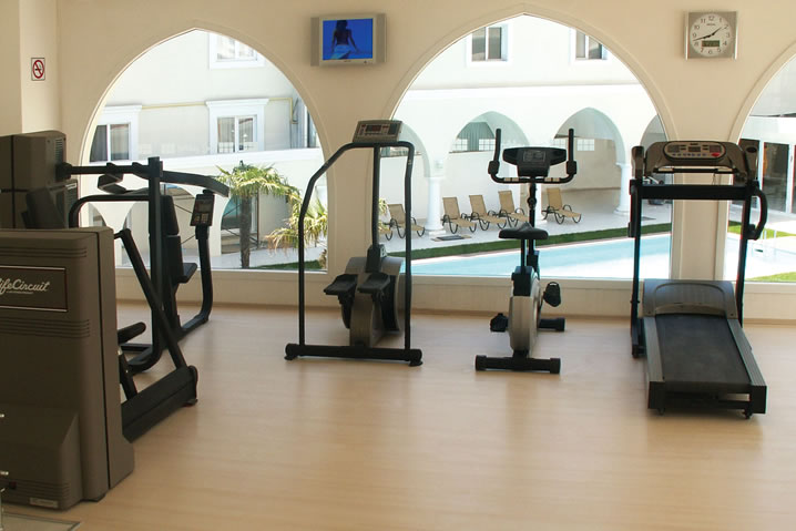 holiday inn hotel istanbul city fitness