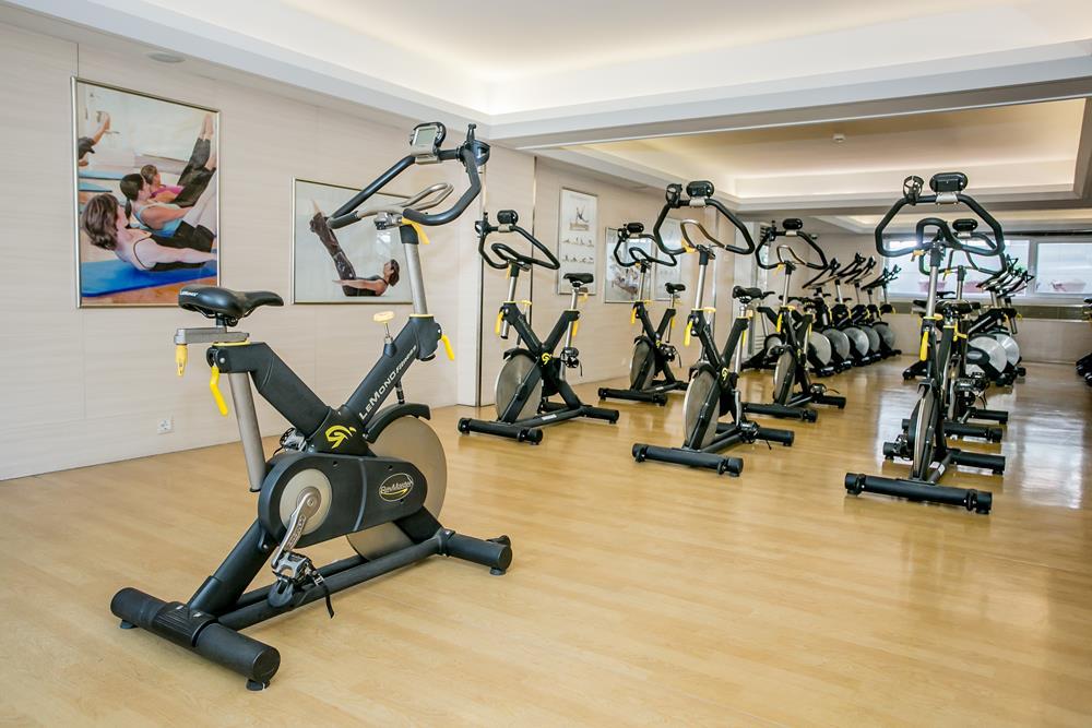 holiday inn hotel istanbul city fitness grup dersleri